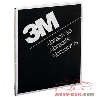 3M 3M(TM) Wetordry(TM) Abrasive Sheet 413Q, 02002, 9 in x 11 in, 400A (sold by each) - part #02002