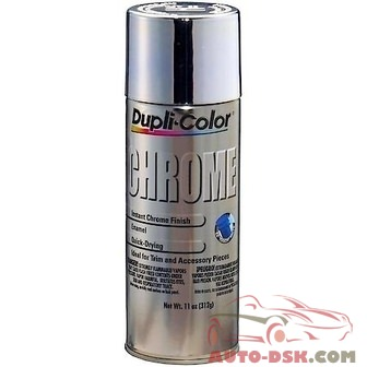 Duplicolor Chrome Finish, 11 oz, Aerosol - part #CS101