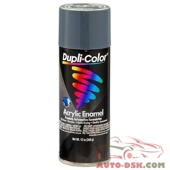 Duplicolor Premium Enamel Machinery Gray, 12 oz., Aerosol - part #DA1612