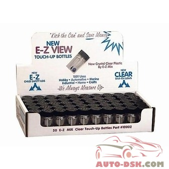 E-Z Mix Touch Up Bottles 50/case - part #EZX70002