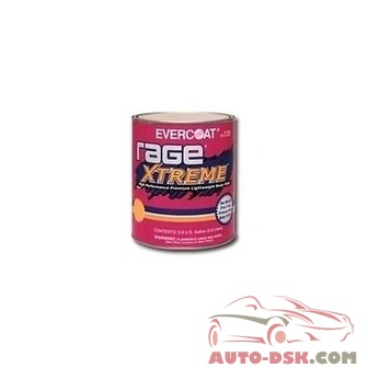 Fibreglass/Evercoat Rage Extreme Premium Lightweight Body Filler, Gallon - part #FIB120