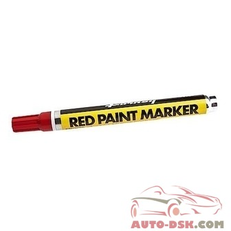Forney PAINT MARKER RED - part #70820