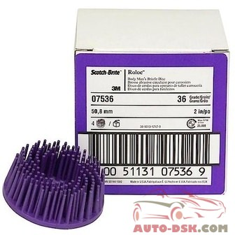 Scotch-Brite Scotch-Brite Roloc Body Mans Bristle Disc - part #MMM07536